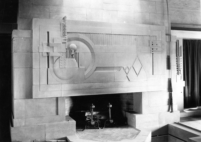 Interior of Hollyhock House