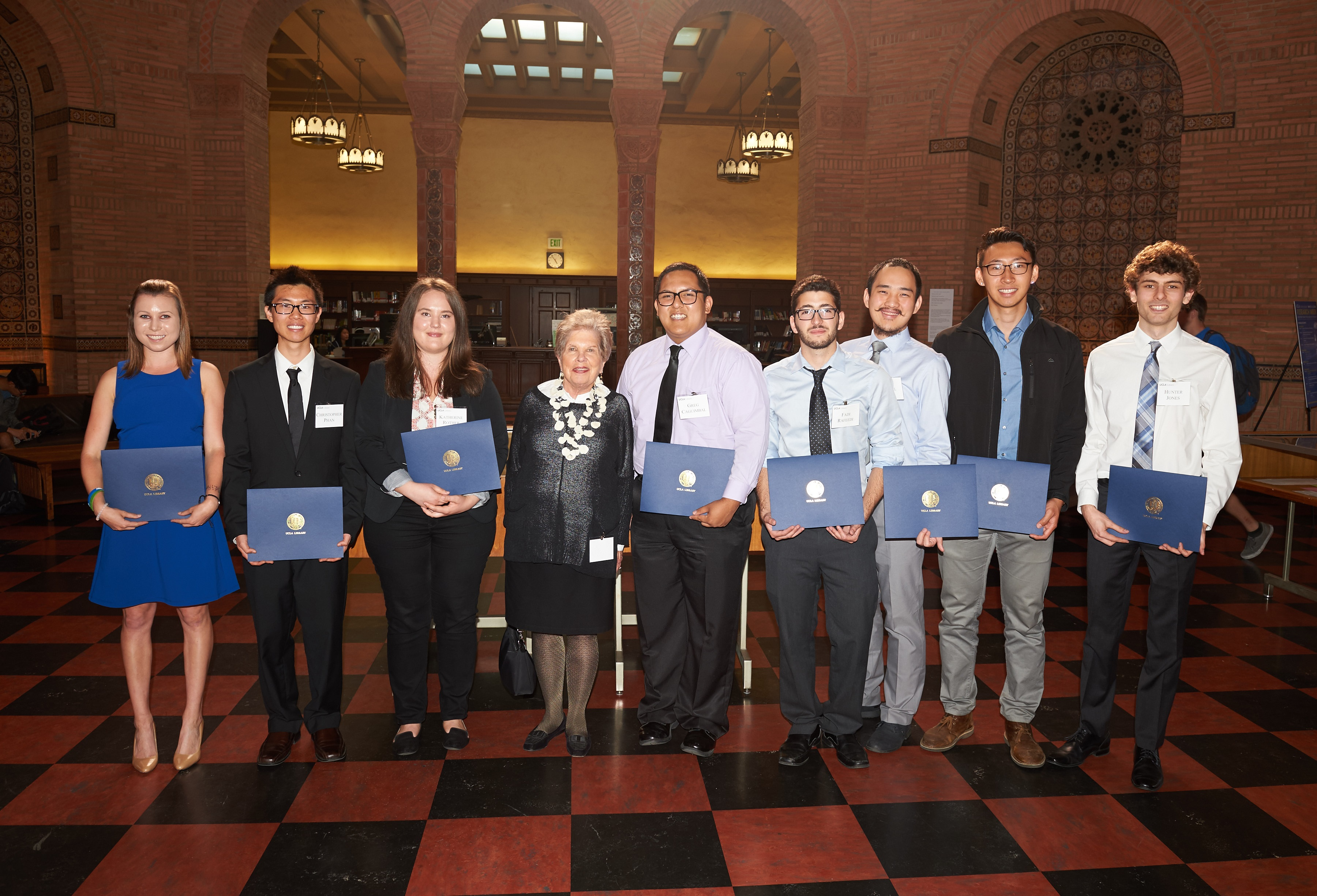 2016 UCLA Library Prize for Undergraduate Research Winners