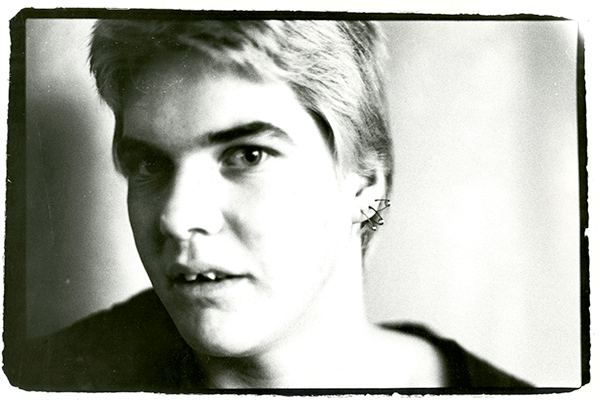 Darby Crash, as photographed by Ruby Ray.
