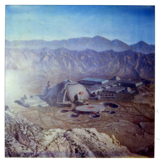 "Image of A photograph of a matte painting of the Relva-7 as seen on ""Coming of Age."""