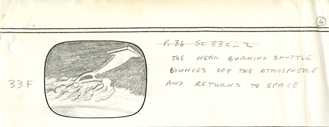 "Image 4 of 4 of hand-illustrated storyboard pages for the episode ""Coming of Age."""