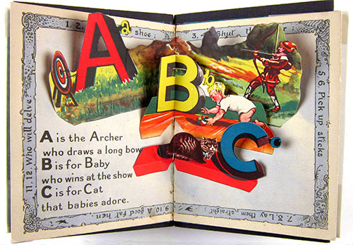 Exhibition image for ABCs of the CBC: Alphabet Books in the Children's Book Collection