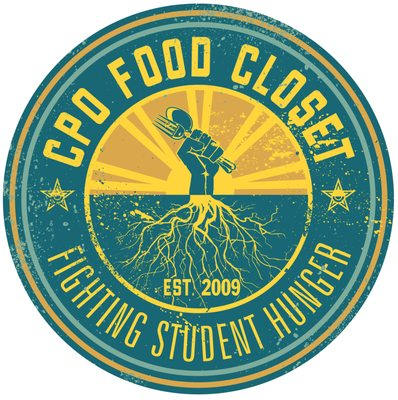 Logo/Seal for the CPO Food Closet: Fighting Student Hunger