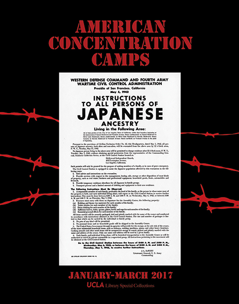 Image of American Concentration Camps Exhibit Poster