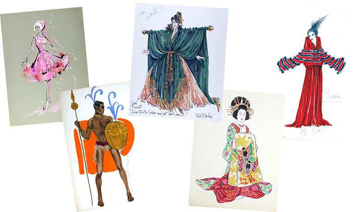 Image of main caption images from The Art of Fashion and Design exhibit