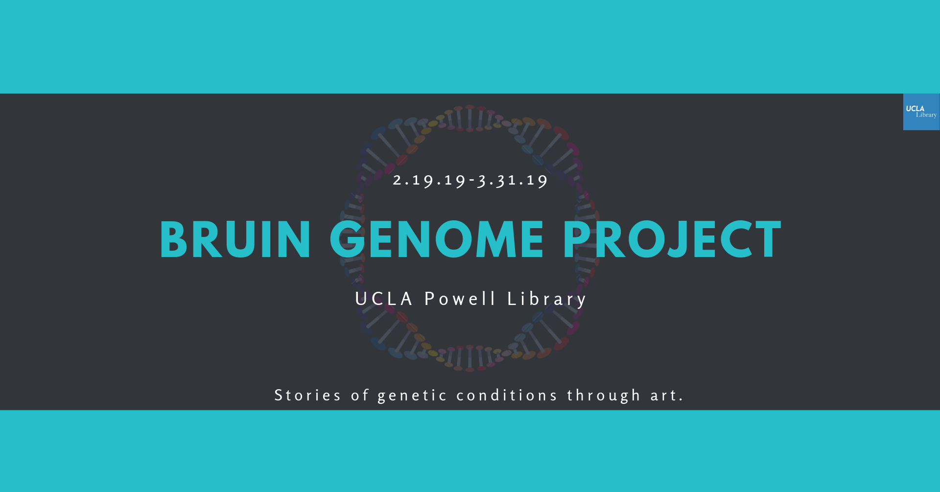bruin genome project promotional poster
