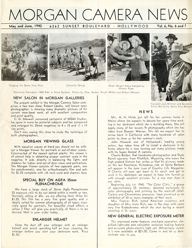 Morgan Newsletter 1940