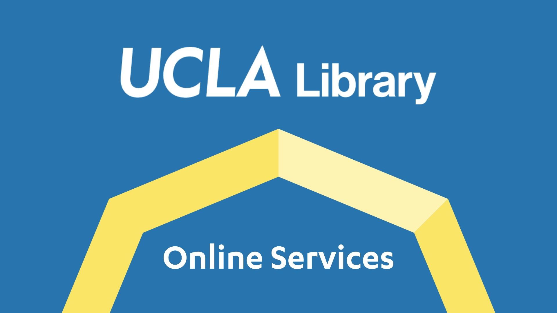UCLA Library Online Services logo
