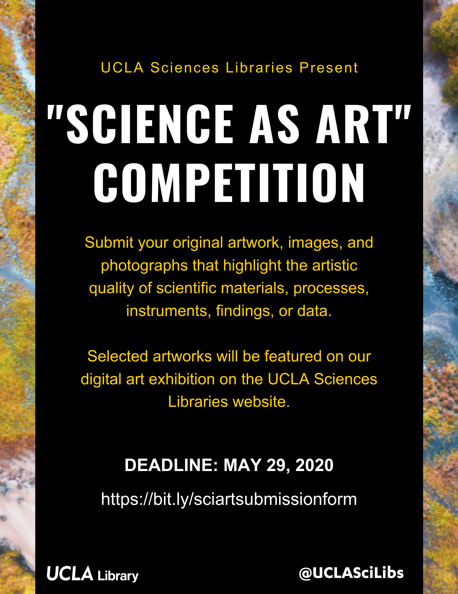 Science as Art Competition Flyer