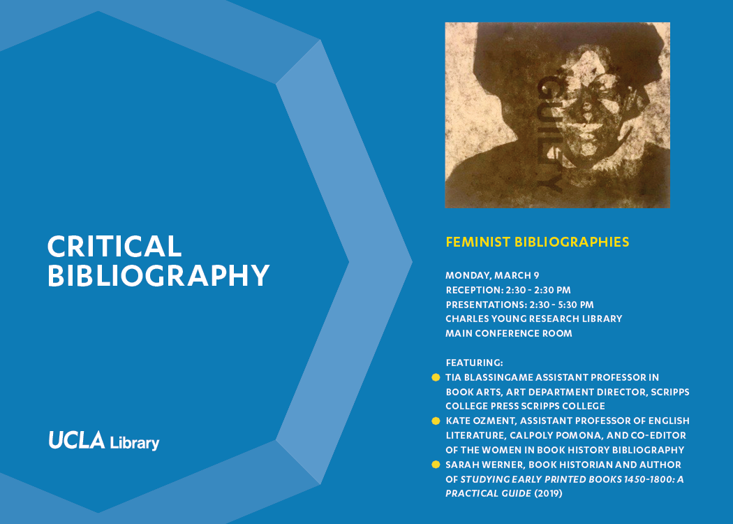 Feminist Bibliographies flyer