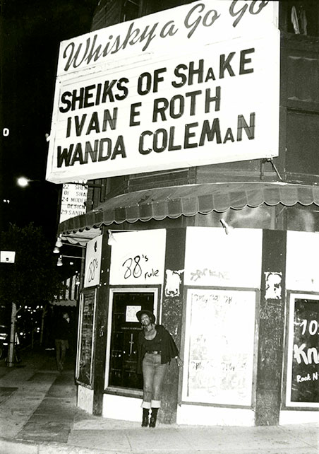 Wanda Coleman at the Whiskey