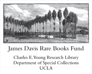 James Davis Rare Books Fund