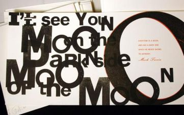 The moon: explorations in type and image, Archetype Press, 2009