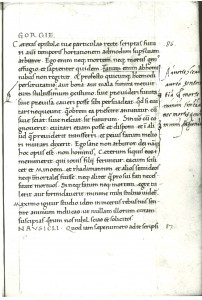 A folio from Pseudo Phalaris, Epistolae