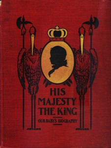 Ethel Elaine Barr's 1902 memory books—with a red cover