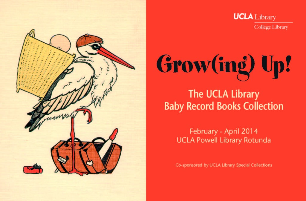 Growing Up! The UCLA Library Baby Record Books Collection
