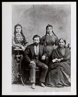 Photograph of the Reyes Family