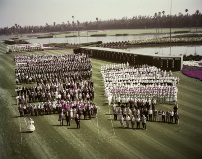 Image of Hollywood Park marching band