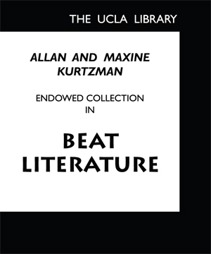 Allan and Maxine Kurtzman Endowed Collection in Beat Literature