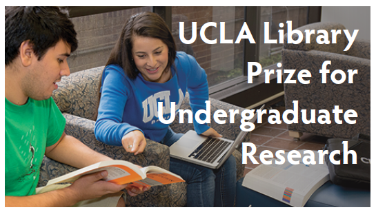 2016 UCLA Library Prize for Undergraduate Research