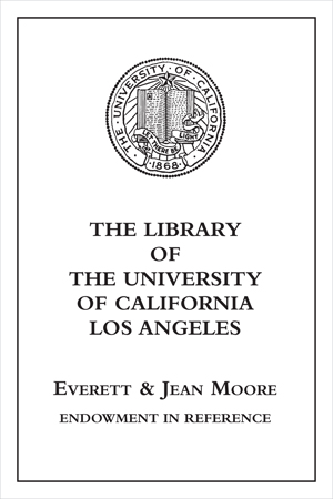 Everett and Jean Moore Endowment in Reference