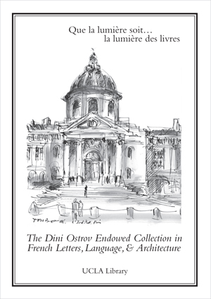 Dini Ostrov Endowed Collection in French Letters, Language and Architecture