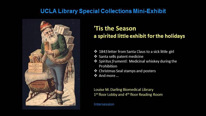 Image of Exhibit Announcement for the Holidays