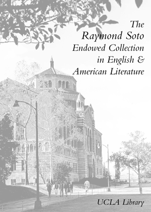 The Raymond Soto Endowed Collection in English and American Literature