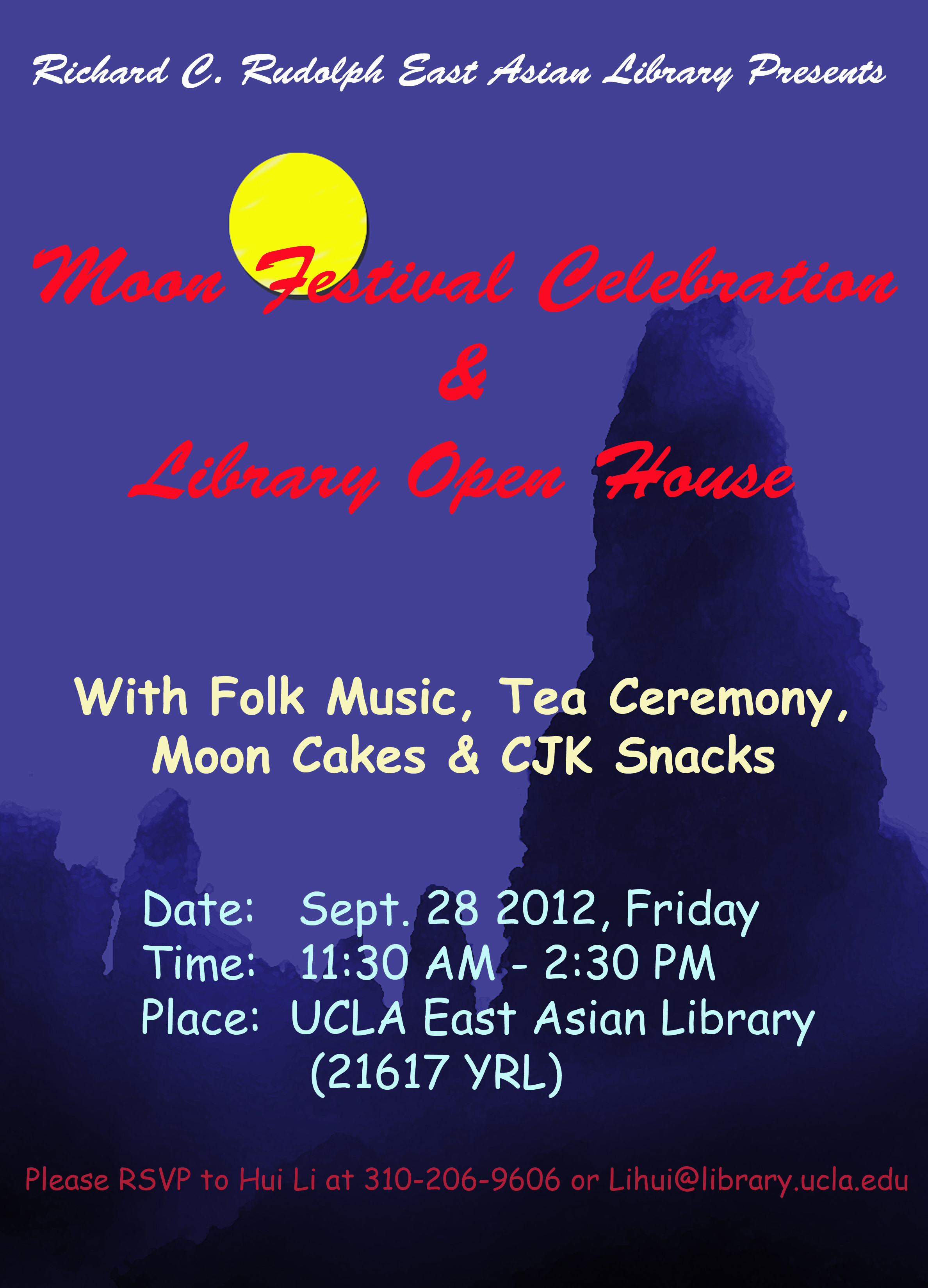 Moon Festival Celebration & East Asian Library Open House