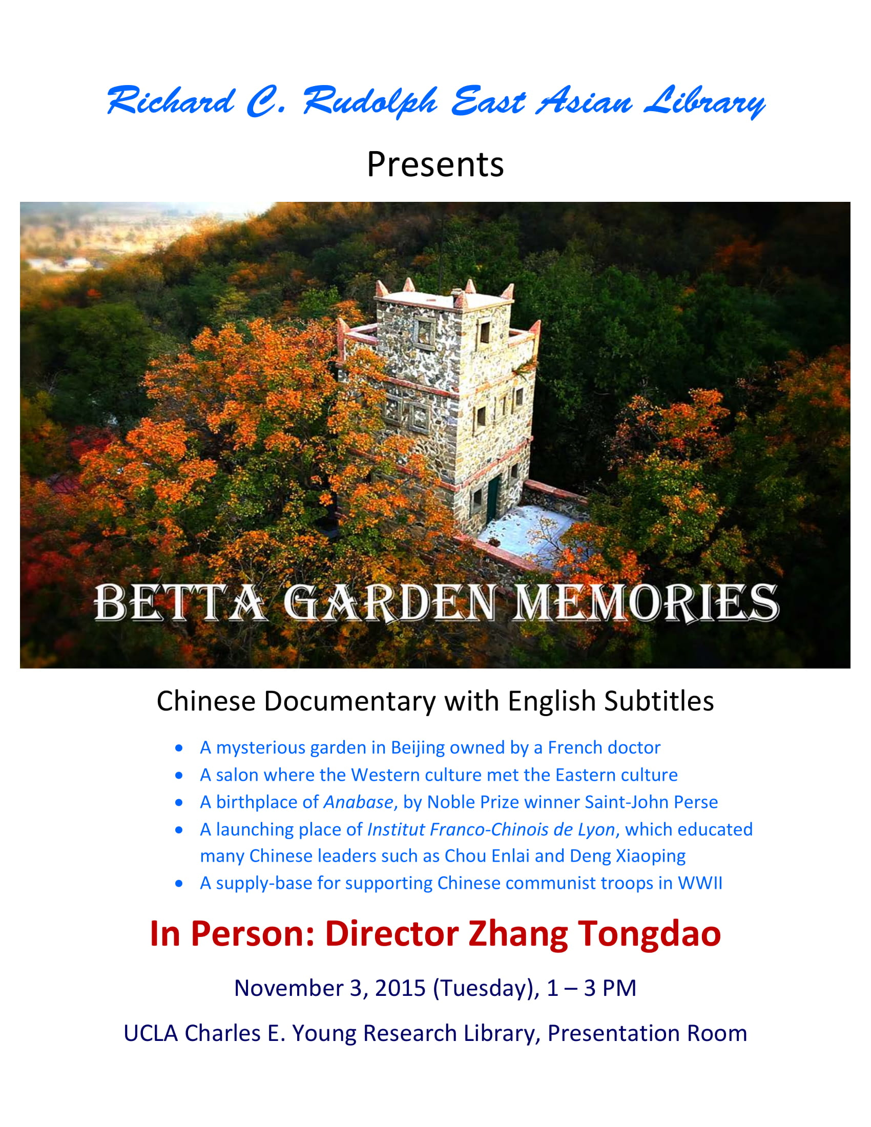 Betta Garden Memories: A Documentary Film Screening