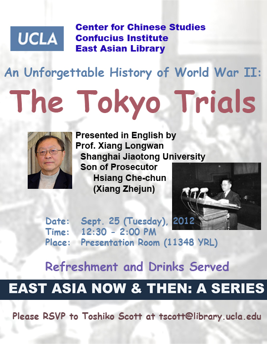 An Unforgettable History of World War II: The Tokyo Trials