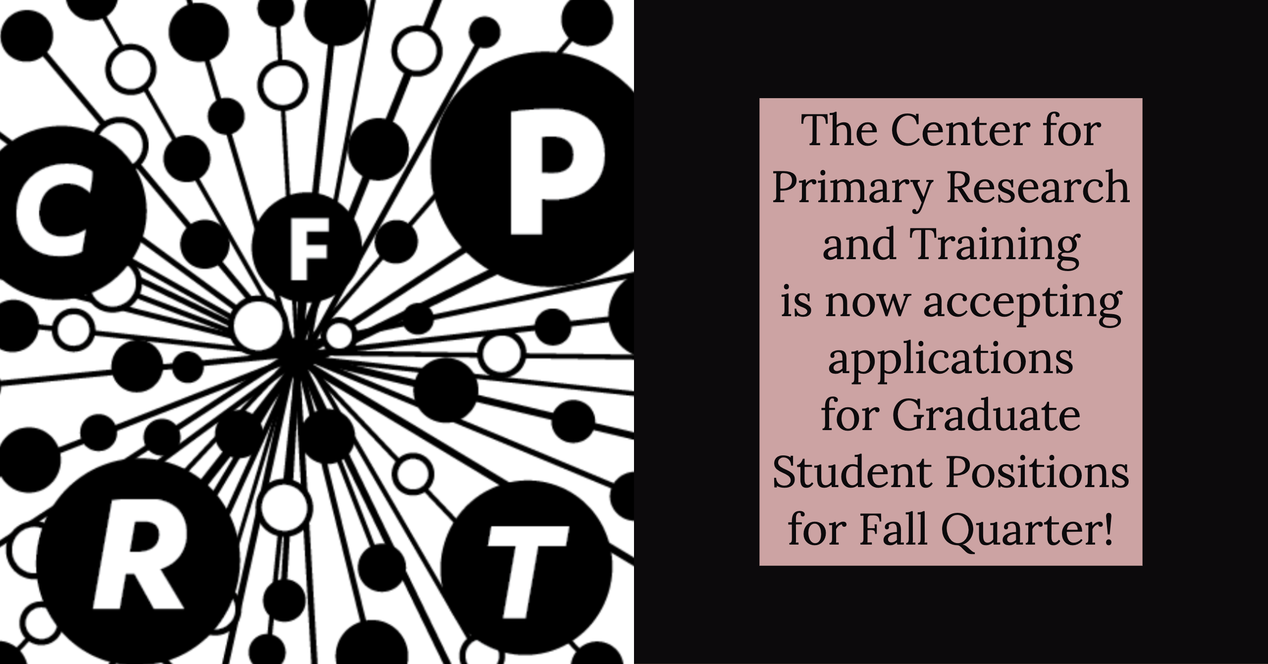 CFPRT accepting applications banner