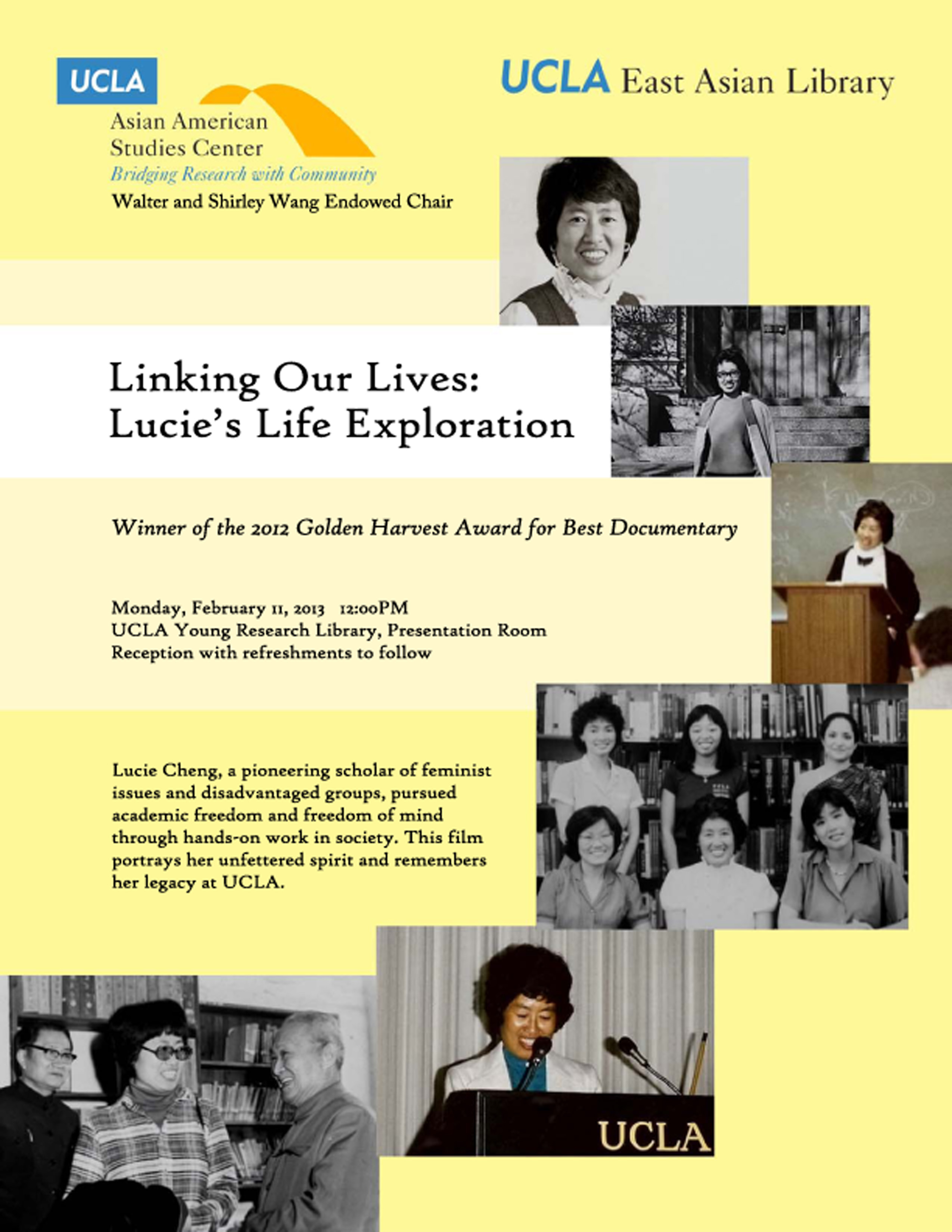 Linking Our Lives: Lucie's Life Exploration: Film Screening