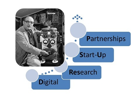 Digital Research Start-Up Partnerships for Graduate Students logo