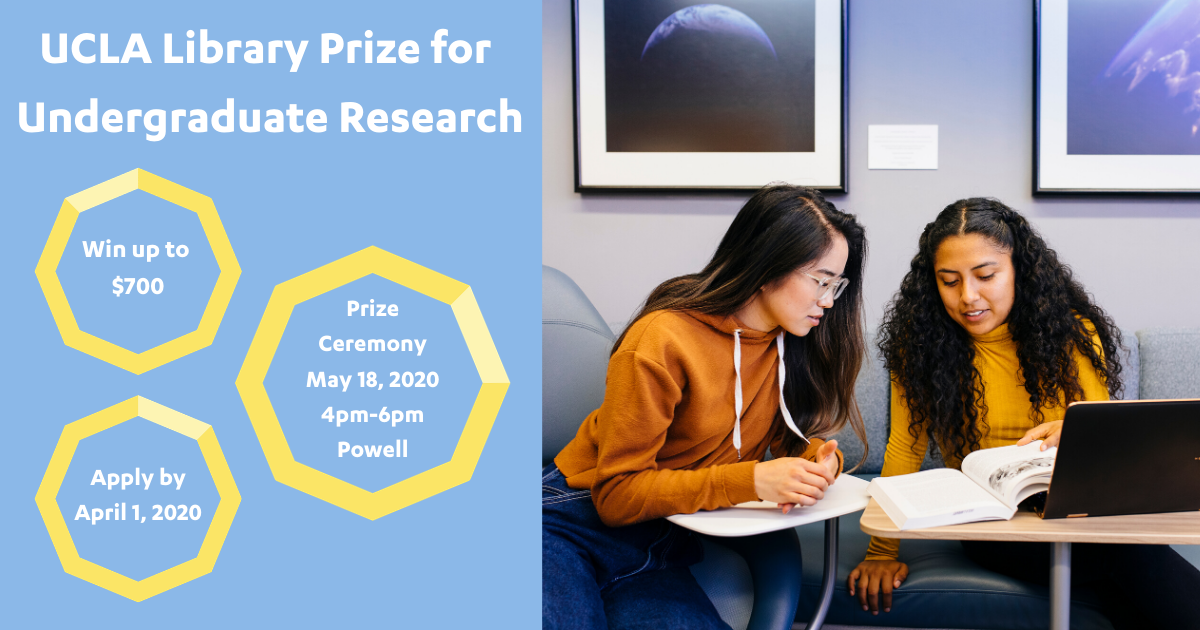 Library Prize for Undergraduate Research 2020