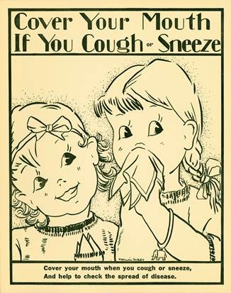 Cover Your Mouth If You Cough or Sneeze image