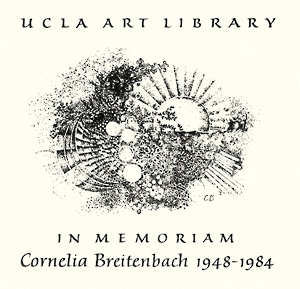 Cornelia Breitenbach Memorial Fund in the Arts