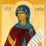 Kassia or Kassiani- an Eastern Roman abbess, poet, composer, and hymnographer