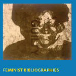 Feminist Bibliographies promotional flyer