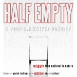 Half Empty Program Cover
