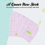a city map titled A Queer New York