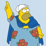 """Fair Use of Image from """"King-Size Homer,"""" (c) 20th Century Fox."""