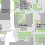 Map image showing location of Social Science Data Archive