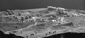 Architecture model from the Richard and Dion Neutra papers