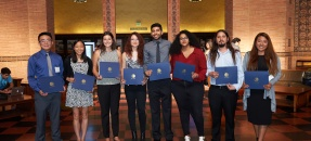 2017 Library Prize for Undergraduate Research winners
