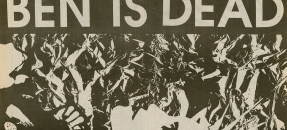 Ben Is Dead, Punk zine from Hollywood, CA, 1989.