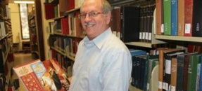 David Hirsch, librarian for Middle East and Jewish Studies