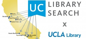 UC Library Search map of CA with UCs marked