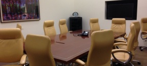 interior of Executive Conference Room