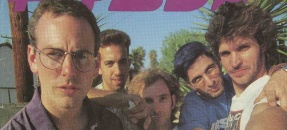 Bad Religion on the cover of Flip Side Magazine, Jul-Aug 1990 Issue No. 67